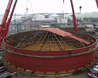 Supplier Of Fixed Roof Storage Tanks Design And Production