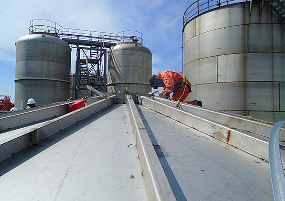 Storage tanks and vessels